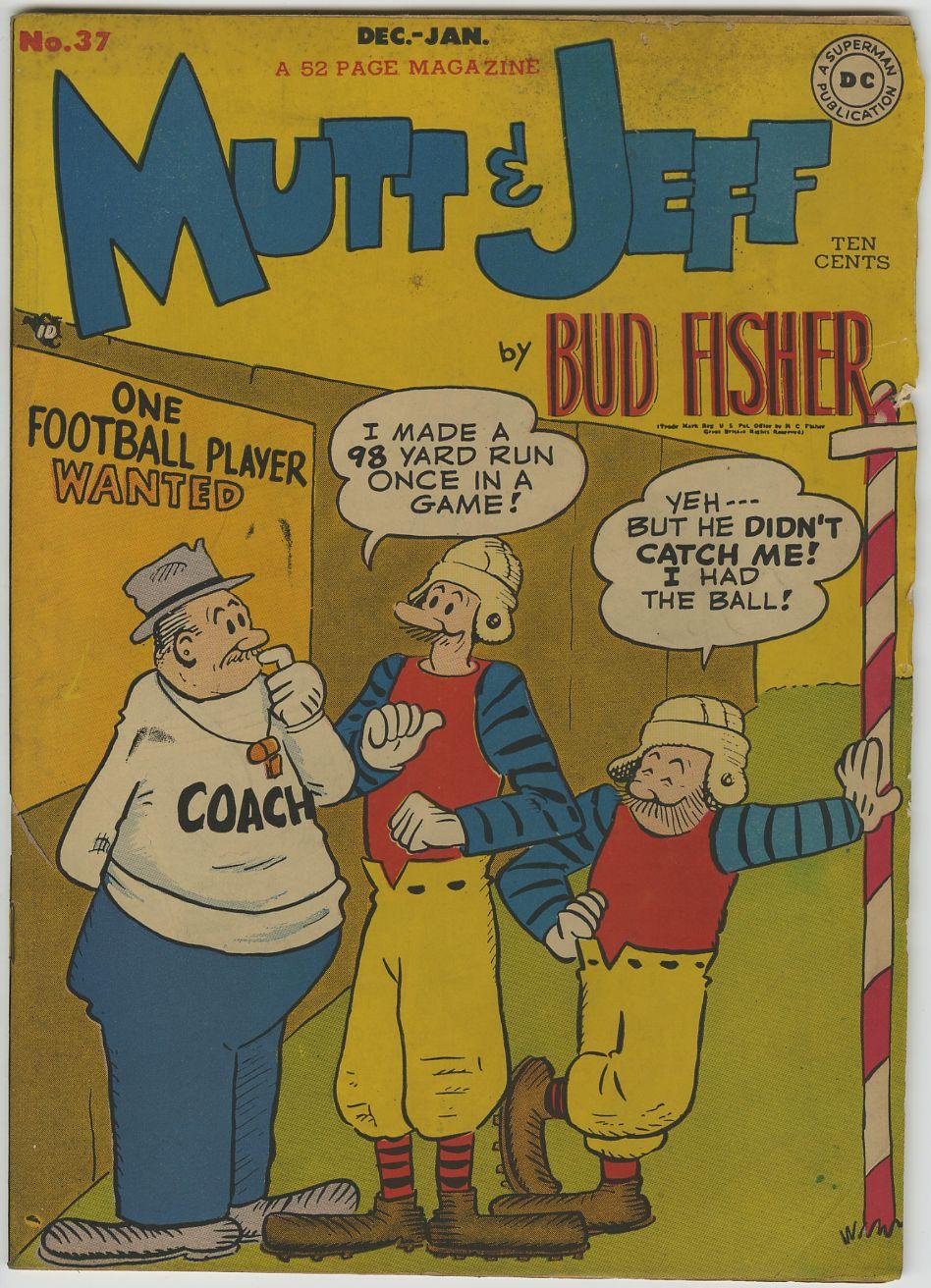 "MUTT & JEFF #37 - 1948 DC Bud FISHER Art - ""D"" Copy"