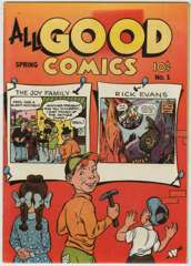 ALL GOOD COMICS #1 - 1946 Nice Copy!