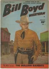 BILL BOYD WESTERN #1 - Fawcett 1950