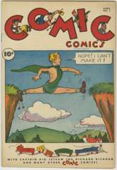 COMIC COMICS #1 - D Copy - 1946 Fawcett
