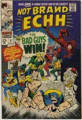 NOT BRAND ECHH #4 - ECHHS-MEN vs MAGNEAT-O Scaredevil