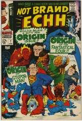 NOT BRAND ECHH #7 - ORIGIN FANTASTICAL FOUR & STUPORMAN
