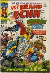NOT BRAND ECHH #8 - FORBUSH-MAN - BEATLES Cameo - 1968