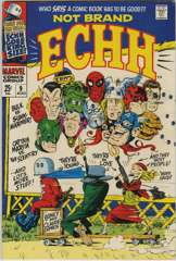 NOT BRAND ECHH #9 - The MEAN HORNET - King-Size Issue