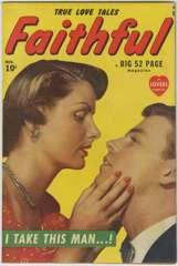 FAITHFUL #1 - MARVEL ROMANCE Photo Cover 1949