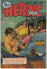 HEROIC COMICS #62 - NICE FILE COPY - 1950 EVERETT Art