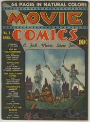 MOVIE COMICS #1 SON of FRANKENSTEIN GUNGA DIN - DC 1939