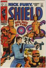 NICK FURY AGENT of SHIELD #12 - BARRY SMITH Cover & Art