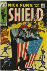NICK FURY AGENT of SHIELD #13 - SUPER-PATRIOT - 1969