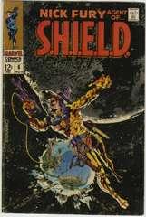 NICK FURY AGENT of SHIELD #6 - Classic STERANKO Cover