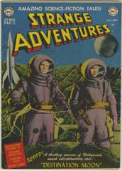 STRANGE ADVENTURES #1 - DESTINATION MOON 1950 DC