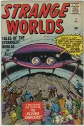 STRANGE WORLDS #1 - Nice Copy - KIRBY DITKO 1958