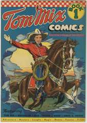 TOM MIX COMICS #1 - Fred MEAGHER Art - 1940