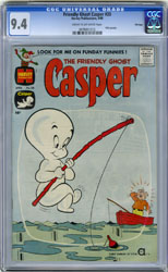 FRIENDLY GHOST CASPER #20 (1960) CGC NM 9.4 COWpgs FILE