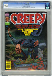 CREEPY #122 (1980) CGC NM 9.4 OWW Pgs TOTH, ZECK ART