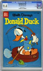 DONALD DUCK #47 (1956) CGC NM 9.4 OWW Pgs FILE COPY RHA
