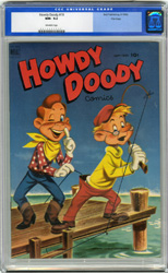 HOWDY DOODY #18 (1952) CGC NM- 9.2 OW Pgs FILE COPY