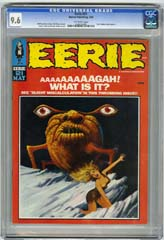 EERIE #21 (1969) CGC NM+ 9.6 OW Pgs TOM SUTTON COLON