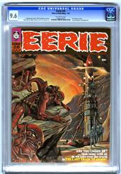 EERIE #28 (1970) CGC NM+ 9.6 OW Pgs BOYETTE Alien Cover