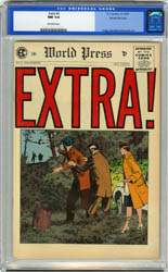 EXTRA! #5 (1955) CGC NM 9.4 OW Pgs GAINES FILE COPY