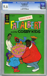 FAT ALBERT #1 (1974) CGC NM+ 9.6 OWW Pgs FILE COPY RHA