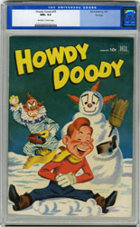 HOWDY DOODY #15 (1952) CGC NM+ 9.6 OWW Pgs FILE COPY