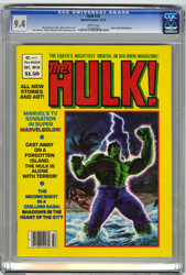 THE HULK #18 (1979) CGC NM 9.4 WHT Pgs ALCALA LARKIN
