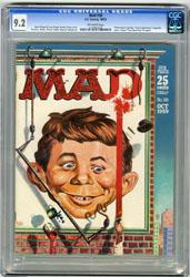 MAD #50 (1959) CGC NM- 9.2 OW Pgs FREAS CVR BERG WOOD