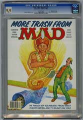MAD SUPER SPECIAL #55 (1986) CGC MT 9.9 WHITE Pgs