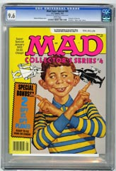 MAD SUPER SPECIAL #85 (1993) CGC NM+ 9.6 WHT Pgs
