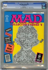 MAD SUPER SPECIAL #88 (1993) CGC NM+ 9.6 WHT Pgs