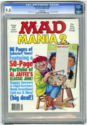 MAD SUPER SPECIAL #69 (1989) CGC NM/MT 9.8 WHT JAFFEE