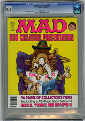 MAD SUPER SPECIAL #72 CGC NM/MT 9.8 WHT WOLVERTON 1990