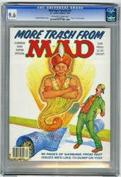 MAD SUPER SPECIAL #55 (1986) CGC NM+ 9.6 OWW Pgs GENIE