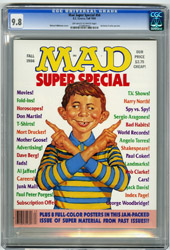 MAD SUPER SPECIAL #56 (1986) CGC NM/MT 9.8 OWW Pgs