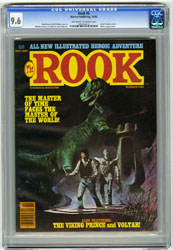 THE ROOK #5 (1980) CGC NM+ 9.6 OWW Pgs VOLTAR ALCALA