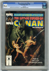 SAVAGE SWORD OF CONAN #204 (1992) CGC NM+ 9.6 WHT Pgs