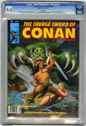 SAVAGE SWORD OF CONAN  #48 (1980) CGC NM 9.4 WHT Pgs