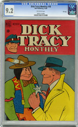 DICK TRACY MONTHLY #10 (1948) CGC NM- 9.2 OW Pgs FILE