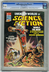 UNKNOWN WORLDS OF SCIENCE FICTION #6 (1975) CGC NM+ 9.6