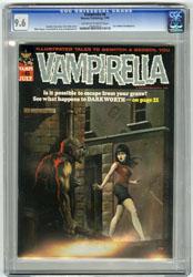 VAMPIRELLA # 6 (1970) CGC NM+ 9.6 OWW Pgs KEN KELLY Cvr