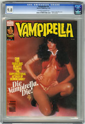 VAMPIRELLA #74 (1978) CGC NM/MT 9.8 OWW Pgs BARB LEIGH