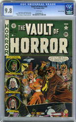 VAULT OF HORROR #20 CGC NM/MT 9.8 WHT GAINES FILE 1951