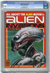 WARREN PRESENTS #3 ALIEN INVASIONS CGC NM+ 9.6 OWW 1979