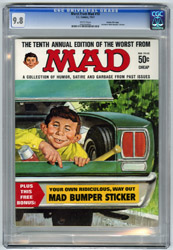 WORST FROM MAD #10 (1967) CGC NM/MT 9.8 WHT Pgs GAINES