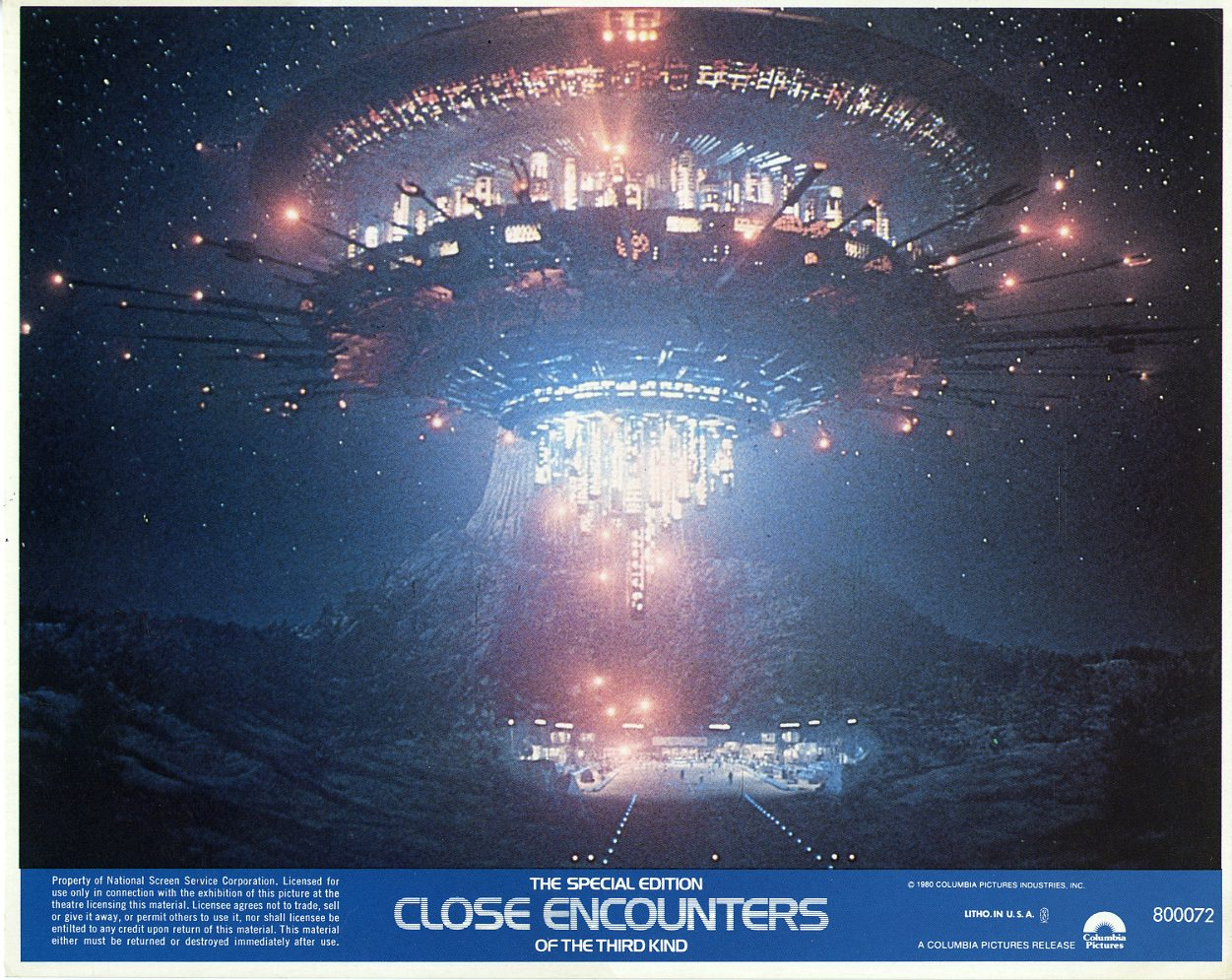 CLOSE ENCOUNTERS OF THE THIRD