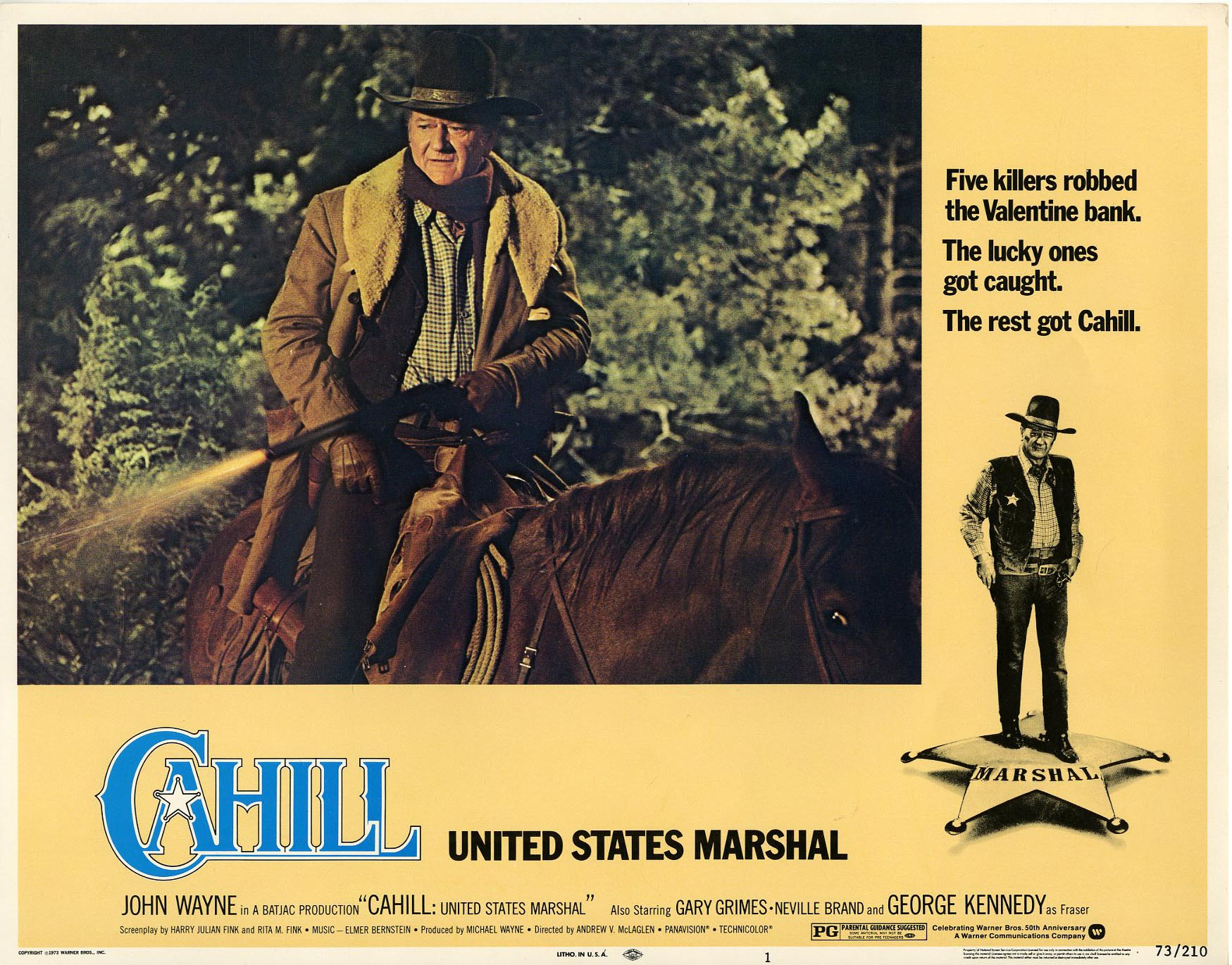 Image result for images of movie cahill u.s. marshal