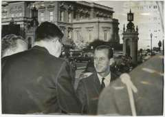 PRINCE PHILIP - Vintage PHOTO - Nov 14, 1962