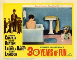 30 YEARS OF FUN (1963)  Lobby Card Set CHARLIE CHAPLIN