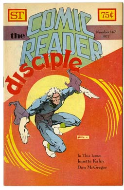 COMIC READER #147 FANZINE (1977) MARSHALL ROGERS CVR